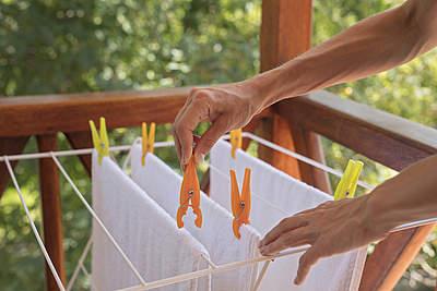 Wäsche nicht in Wohnung trocknen