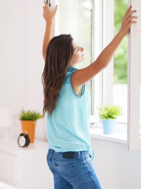 Feinstaub durch Fensterlüften