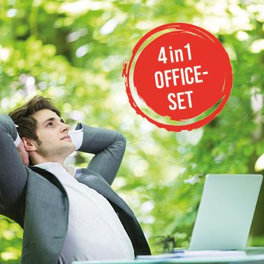 4in1-Office-Set für optimale Lüftung im Büro