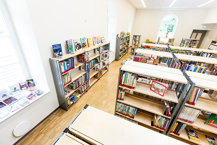 inVENTer-Referenz Bibliothek Schleiz Bild 5