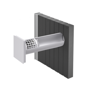 inVENTer-Außenluftdurchlass aV100 ALD Corner