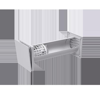 inVENTer-Außenluftdurchlass aV100 ALD Innenansicht
