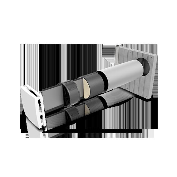 Einzelraumlüfter iV-Twin+ Corner Explosionsdarstellung