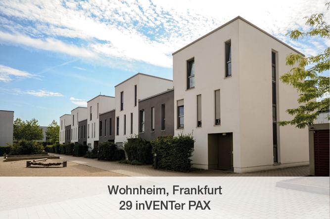 Referenz inVENTer PAX Wohnheim Frankfurt