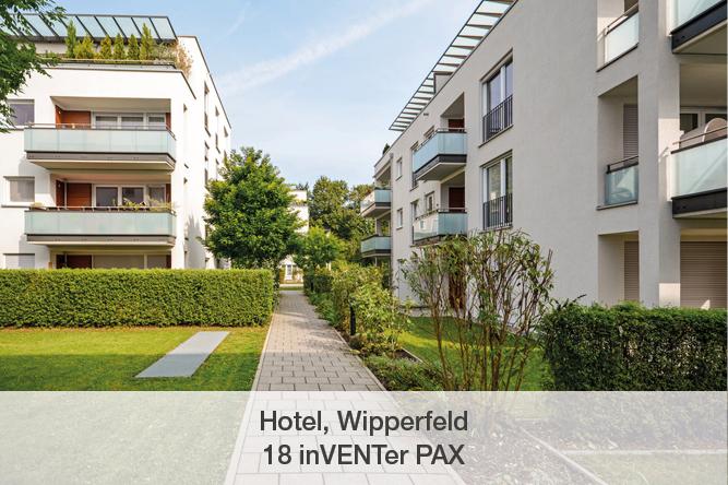 Referenz inVENTer PAX Hotel Wipperfeld