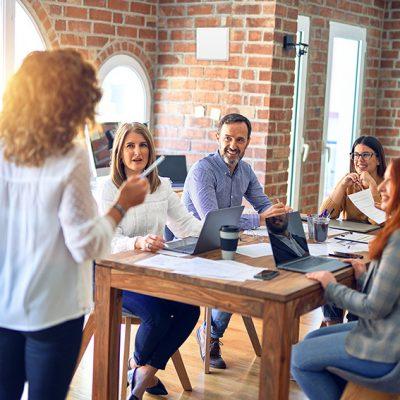 Leistungsplusgerät iV-Office im Büro