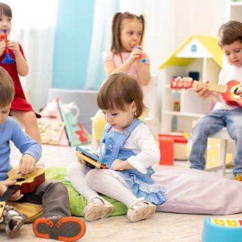 Kindergarten-Lüftung für Kinder